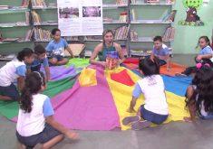 Saia literária: um projeto de insentivo a leitura (FOTO: Reprodução TV Jangadeiro)