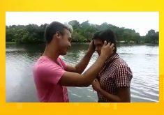 Cearenses de Trairi produzem filme caseiro com celular(FOTO: Reprodução TV Jangadeiro)