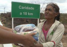 Projeto Amigos do Sertão ajuda famílias no interior do Ceará (FOTO: Reprodução/TV Jangadeiro)