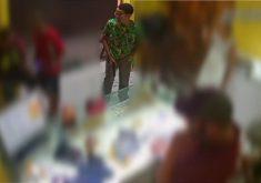 Criminosos assaltam pizzaria e ainda agridem funcionário (FOTO: Reprodução TV Jangadeiro)