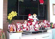 Professor universitário é apaixonado pelo Papai Noel (FOTO: Reprodução TV Jangadeiro)
