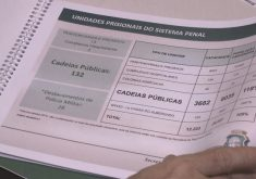 Sistema Prisional cearense ainda não saiu do papel (FOTO: Reprodução TV Jangadeiro)