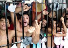 300 presos devem ser transferidos para presídios em Fortaleza (FOTO: Reprodução TV Jangadeiro)