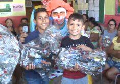 Projeto Criança Feliz beneficia crianças no Paracuru (FOTO: Reprodução/TV Jangadeiro)