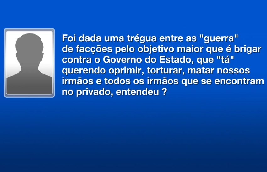 Trégua de facções no Ceará faz índices de homicídios caírem em janeiro