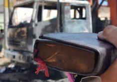 Bíblias ficam intactas após incêndio em ataques terroristas (FOTO: Reprodução TV Jangadeiro)