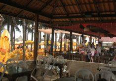 Onda de ataques prejudica a movimentação na Praia do Futuro (FOTO: Reprodução TV Jangadeiro)