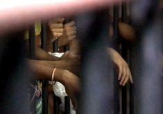Presos são transferidos das cadeias públicas no Ceará (FOTO: Reprodução TV Jangadeiro)