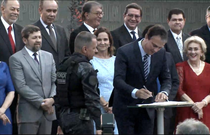 Governo adota reforço na segurança para resguardar Palácio da Abolição
