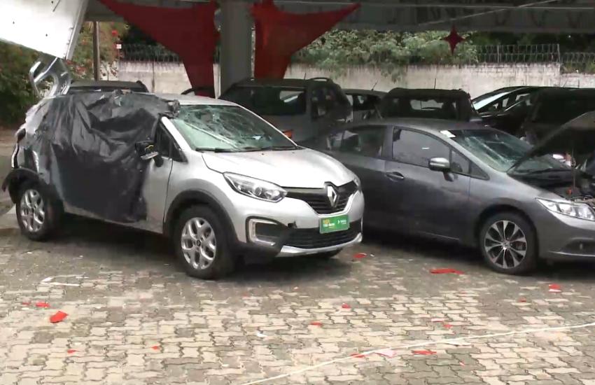 Ataque a concessionária deixou quase 30 carros danificados