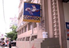 Serviços dos Correios continuam suspensos em alguns bairros (FOTO: Reprodução TV Jangadeiro)