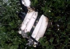 Explosivos são utilizados em ataquem no Ceará (FOTO: Reprodução TV Jangadeiro)