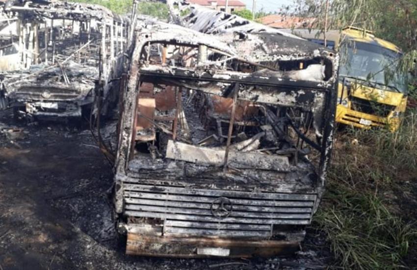 Prejuízo da onda de ataques pode chegar a R$ 18 milhões no Ceará