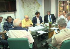 Agência Nacional das Águas se reúne no Ceará para discutir plano nacional de segurança das barragens (FOTO: Reprodução TV Jangadeiro)
