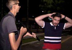 Sargento Chiquinho não faz corpo mole para proteger o povo (FOTO: Reprodução TV Jangadeiro)