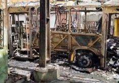Crime organizado usa explosivos para confrontar o estado (FOTO: Reprodução/TV Jangadeiro)