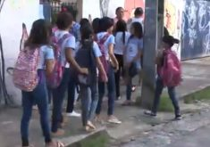Alunos de escola no bairro Bela Vista estão sem professores em três disciplinas. (Foto: Reprodução)