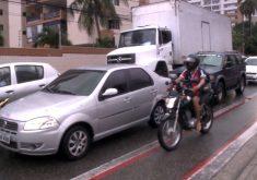 Inflação em ciclovias em Fortaleza (FOTO: Reprodução TV Jangadeiro)