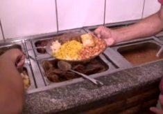Self-service sem peso ganha destaque em Fortaleza (FOTO: Reprodução TV Jangadeiro)