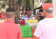 Número de trabalhadores informais cresceu no Ceará (FOTO: Reprodução TV Jangadeiro)