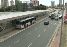 Novas linhas de ônibus irão passar na Avenida Aguanambi (FOTO: Reprodução TV Jangadeiro)