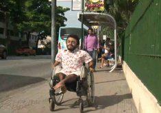 A doença do matias não o impede de sonhar e lutar por seus objetivos (FOTO: Reprodução TV Jangadeiro)