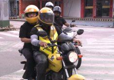 Mototaxistas de Fortaleza vão reduzir e tabelar o preço das corridas (FOTO: Reprodução TV Jangadeiro)