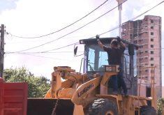 Situação traz prejuízos para a companhia elétrica (FOTO: Reprodução/TV Jangadeiro)