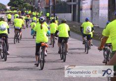 Passeio Ciclístico acontece no dia 1º de maio (FOTO: Reprodução/TV Jangadeiro)
