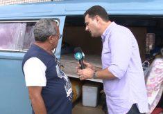 Nilson Fagata conta a história (FOTO: Reprodução/TV Jangadeiro)