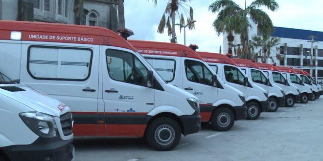 Apesar do reforço na frota de ambulâncias, tempo de espera por atendimento continua longo