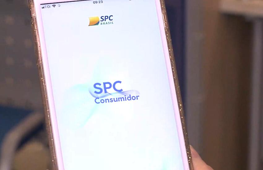 Aplicativo SPC Consumidor é gratuito (FOTO: Reprodução/TV Jangadeiro)