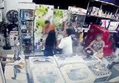 Comércios são alvos dos criminosos no Ceará (FOTO: Reprodução TV Jangadeiro)