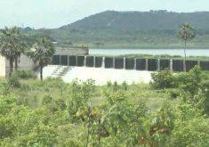 Segundo a Cogerh, a forte chuva fez a barragem sangrar. (Foto: Reprodução/TV Jangadeiro)