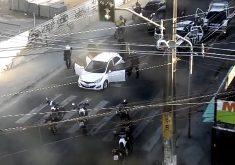 Ceará tem uma média de 25 veículos roubados por dia (FOTO: Reprodução TV Jangadeiro)
