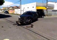 Professor tem carro destruído em acidente (FOTO: Reprodução TV Jangadeiro)