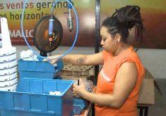 Internas do Instituto Penal feminino do Ceará escrevem uma nova história (FOTO: Reprodução TV Jangadeiro)