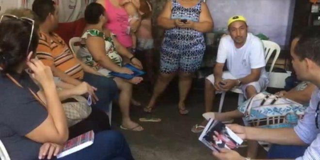 A família acusa a PM de invadir casa e agredir autista em cerimônia de Crisma. (Foto: Reprodução/TV Jangadeiro)