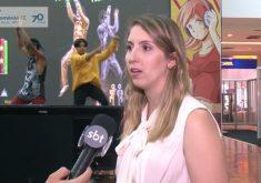 Paola Zanotelli etá fazendo um mestrado com a ajuda do Fecomércio(FOTO: Reprodução TV Jangadeiro)