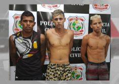 Homem Aranha, Batman e Lanterna verde são presos em,Fortaleza (FOTO: Reprodução TV Jangadeiro)