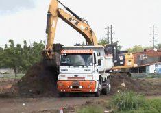 Obras de duplicação do viaduto da Raul Barbosa (FOTO: Reprodução TV Jangadeiro)