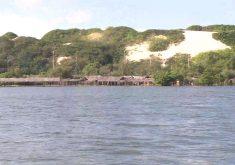 Passeio pelo Rio Cocó é nova opção de lazer em Fortaleza. (Foto: Reprodução/TV Jangadeiro)
