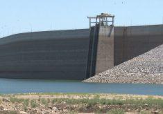 Os dois maiores açudes do Ceará permanecem com baixo volume de água (FOTO: Reprodução/TV Jangadeiro)