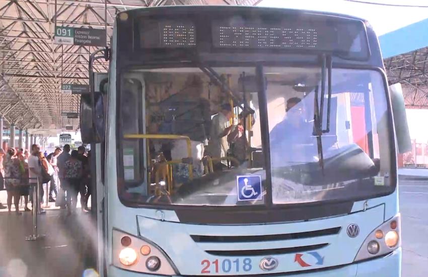 9 linhas de ônibus fazem o serviço expresso na cidade (FOTO: Reprodução/TV Jangadeiro)