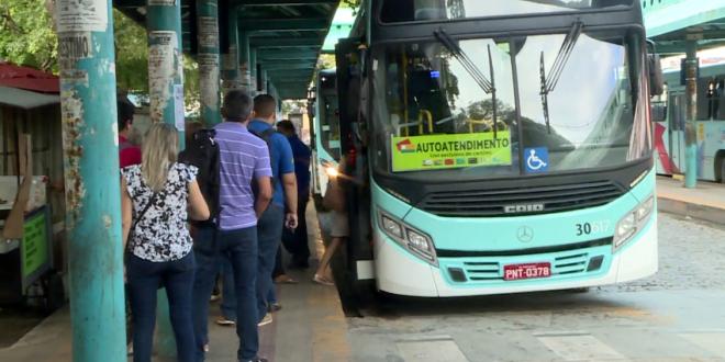 Passageiros ainda se sentem inseguros, apesar da redução de assaltos a ônibus