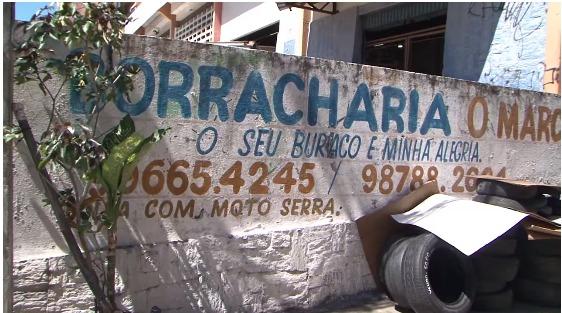 Slogan de borracharia chama atenção de clientes em Fortaleza