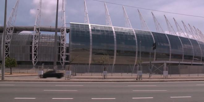 Contas de água e luz consomem 65% da arrecadação da Arena Castelão